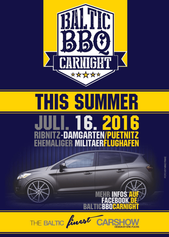Flyer Baltic BBQ Carnight